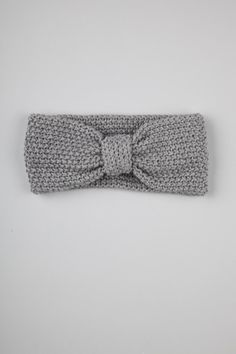 seed stitch knitted headband. @Kat Ellis Whaley we are ahead of it