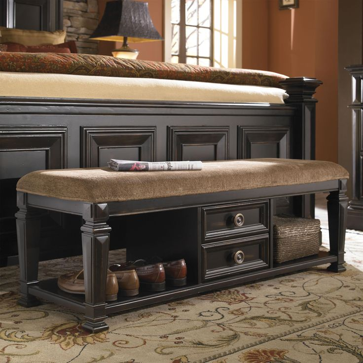 Brookfield Brookfield Bench By Pulaski Furniture