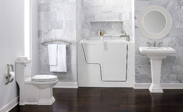 Aging in Place Suite - transitional - Bathroom - New York - American Standard Brands