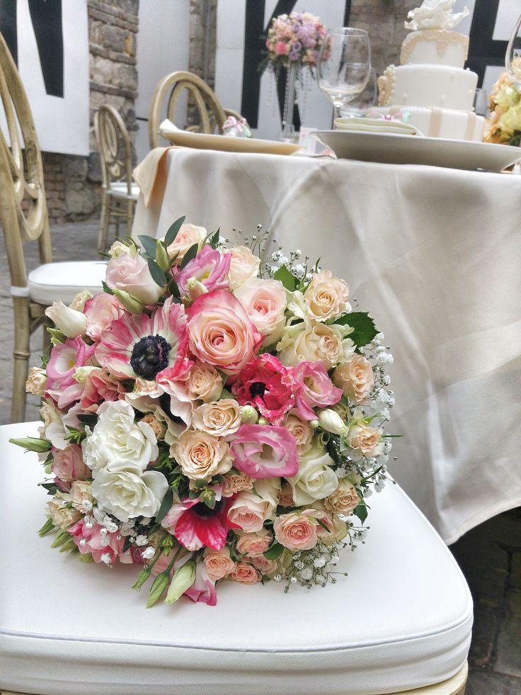Menyasszonyi csokrunk az Esküvő Classic magazin fotózáson