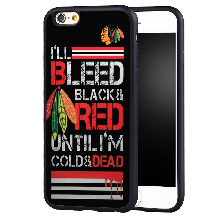 CHICAGO BLACKHAWKS NHL HOCKEY Printed Soft Rubber Skin Mobile Phone Cases For iPhone 6 6S Plus SE 5 5S 5C 4 4S Back Shell Cover