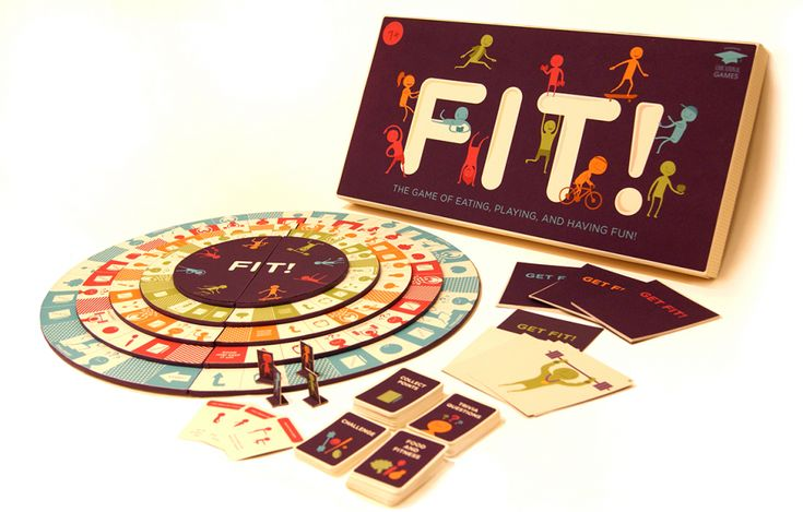 student-made graphic design board game project by Michelle Gish