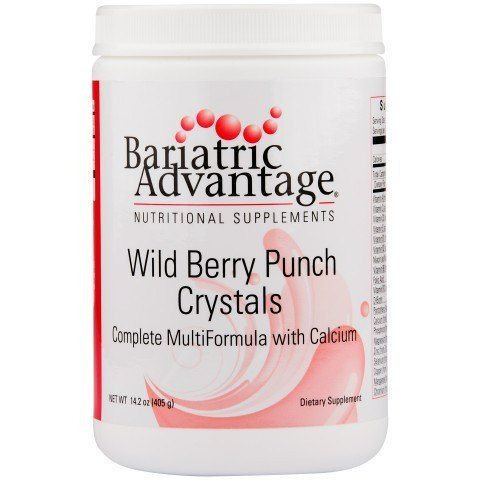 Bariatric Advantage introduces a refreshing way meet your Multivitamin and mineral needs. These quick dissolving crystals make a delicious Citrus Splash flavored drink that is loaded with essential nu