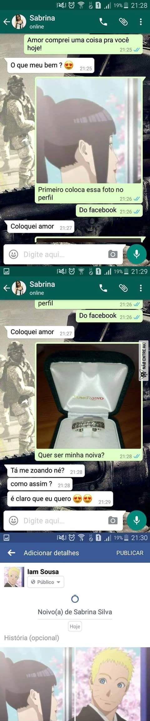 Quero um pedidos de casamento assim
