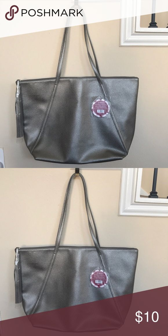 Silver tote. Silver tote. Bags Totes