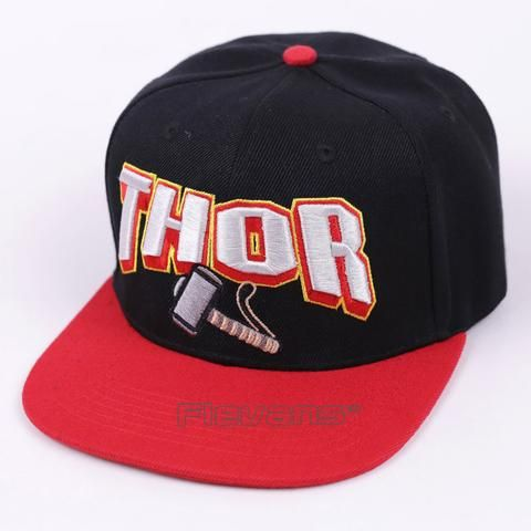 Marvel Super Hero Thor Cool Black and Red Streetwear Snapback  #Marvel #Super #Hero #Thor #Cool #Black #Red #Streetwear #Snapback