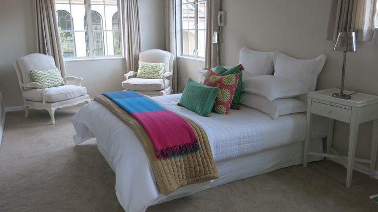 Bedroom staged by DMI Homestagers.