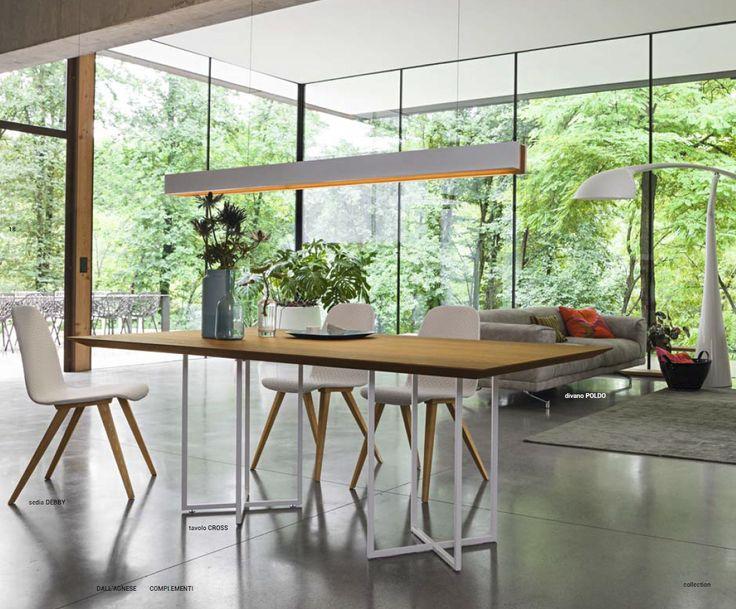 Nowoczesne włoskie stoły z blatami drewnianymi i stalową nowoczesną podstawą, rózne wymiary i kolory wybarwienia drewna i podstawy