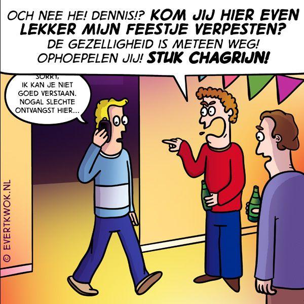 Ja typisch. #cartoon -Evert Kwok