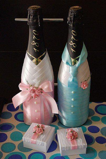 Свадебное шампанское ручной работы   ВКонтакте