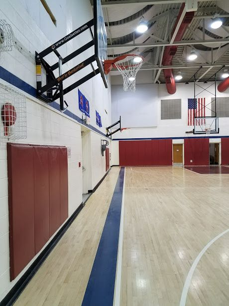 GYMNASIUM BASKETBALL SYSTEMS INSTALLATION AND ASSEMBLY