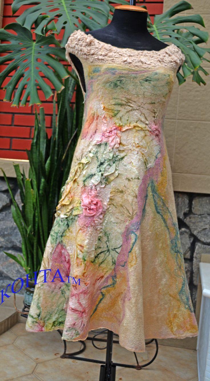 Платье - Felted dress