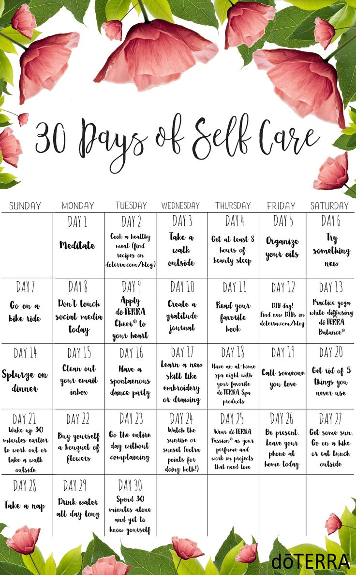 It's a new month! Start this Monday off with 30 Days of Self Care. Share your efforts with #doTERRASelfCare and let us know how you are taking care of yourself!