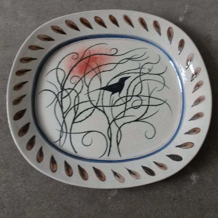 'Bird Among Thorns' dish by James Campbell