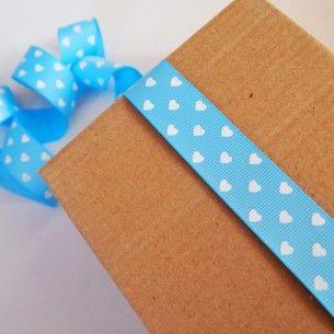 Mavi Beyaz Kalpli Grogren