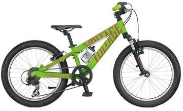 2014 Scott Voltage JR 20 - Childrens Mountain Bike -   Get your child excited about riding with Scott's Voltage JR 20. This tough bike eats up dirt and pavement alike.