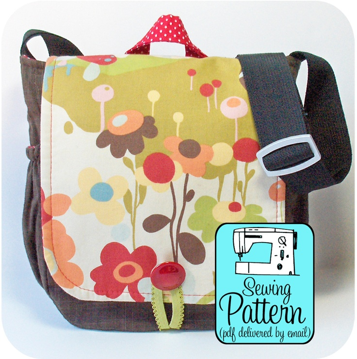 Michelle Patterns: Messenger Bag PDF Sewing Pattern