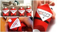 A fun craft for any age!These toilet paper roll Santa's will bring a homey and festive touch to your Christmas tree and couldn't be easier to make!What You'l...