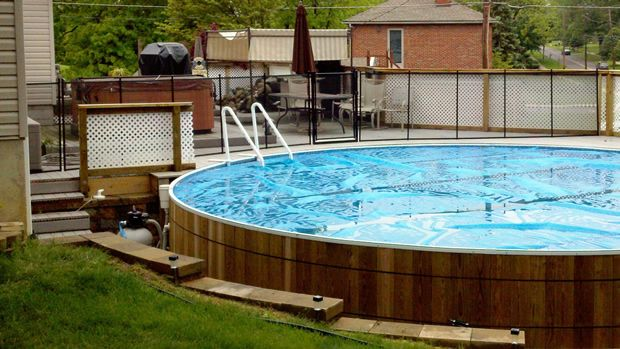 18 best images about deck railings on pinterest decks - Is there sales tax on swimming pools ...