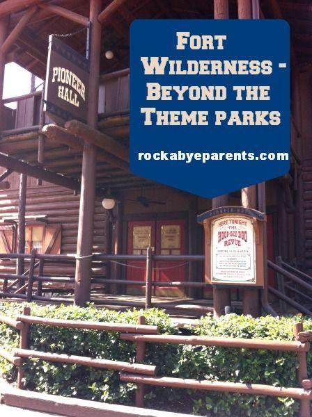 Fort Wilderness – Beyond The Walt Disney World Theme Parks - rockabyeparents.com