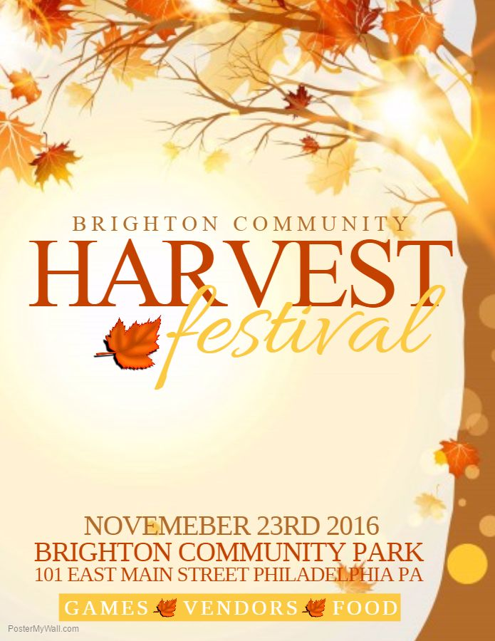 Fall Flyer Templates  BesikEightyCo