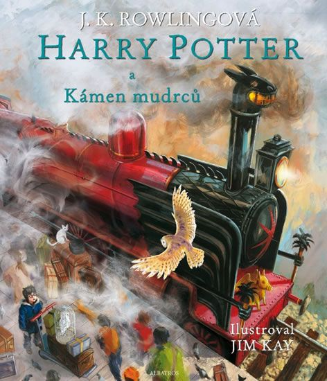 Kniha Harry Potter a kámen mudrců | bux.cz