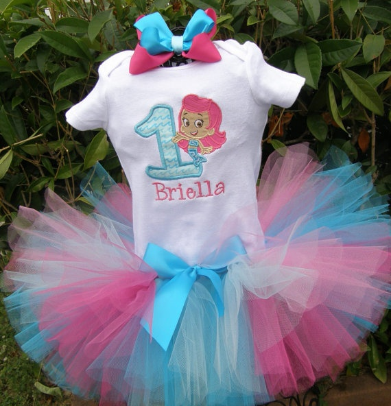 Bubble Gubbie Party Top (#4 Kynnadi Bday 2014)