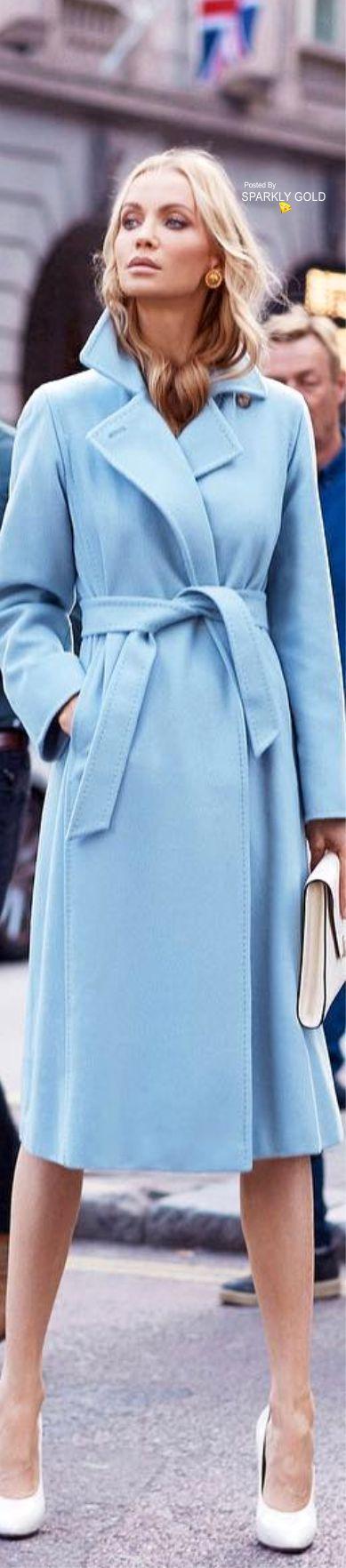 Beautiful blue coat