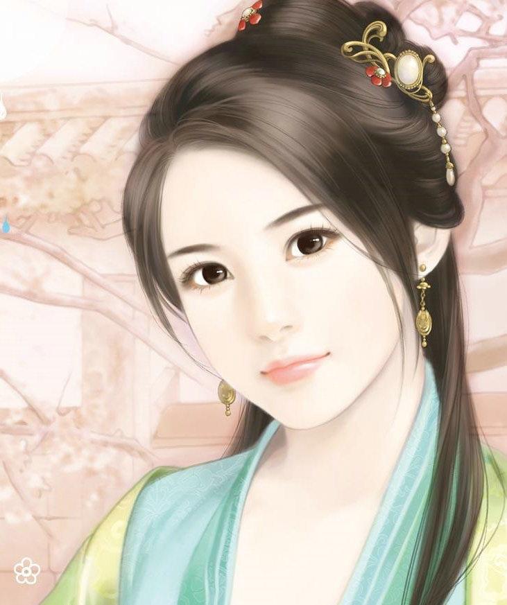 chinese art portrait digital chinois