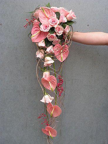 Tropische #Hochzeit Strauß! | #Anthurium | #Inspiration