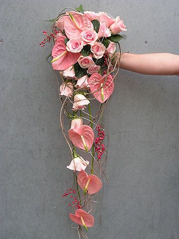 tropical wedding bouquet  Tablescapes by Design www.tablescapesbydesign.com https://www.facebook.com/pages/Tablescapes-By-Design/129811416695