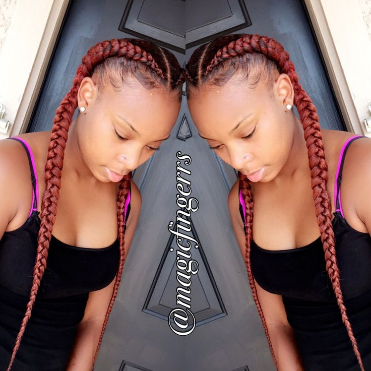 2 feed in Braids | Hair-uhhhh | Pinterest | 2!, Braids and In