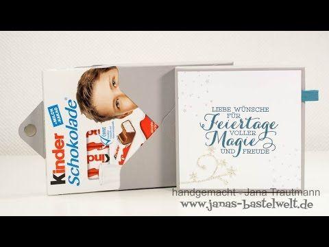 Envelope Punchboard Verpackung für Ritter-Sport Mini - YouTube