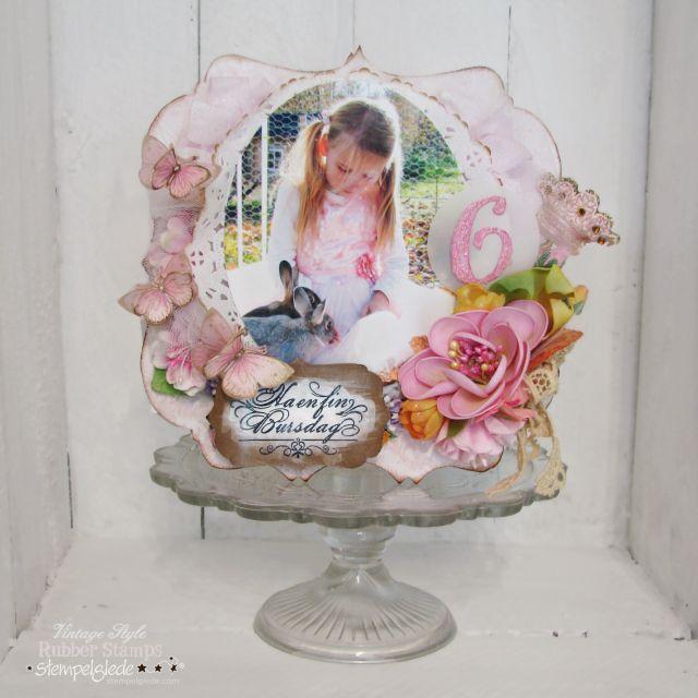 A birthday card for my daughter - Gunhild J. Gjessing Bay - Stempelglede :: Design Team Blog
