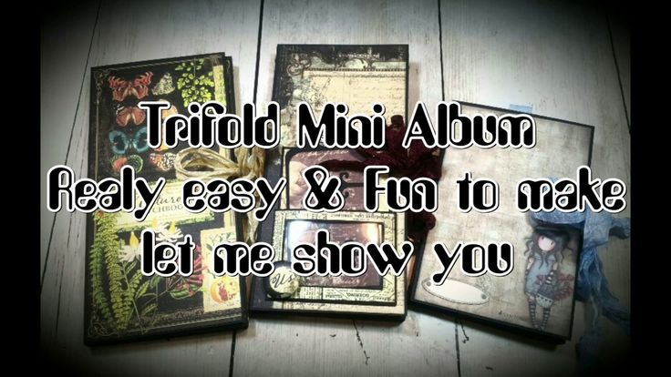 Trifold Mini Album ( graphic 45 - Prima Marketing - Gorjuss )