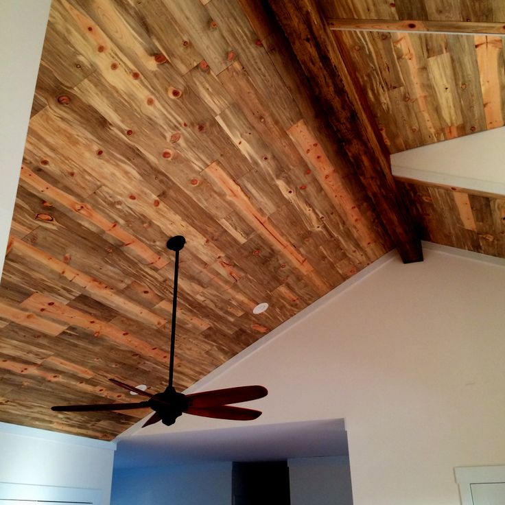 Beetle Kill Pine Ceiling From Sustainable Lumber Co