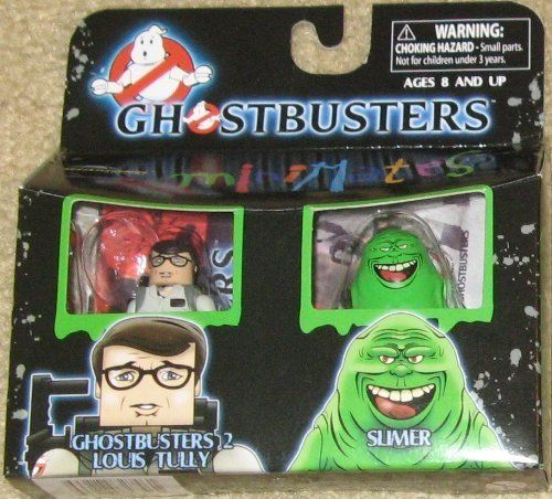 Ghostbusters Minimates Louis Tully & Slimer by Diamond Select Toys @ niftywarehouse.com #NiftyWarehouse #Ghostbusters #Movie #Ghosts #Movies #Film