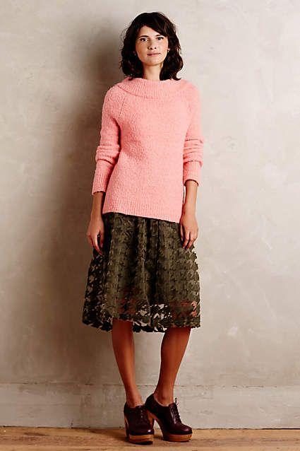 Brea Boucle Pullover