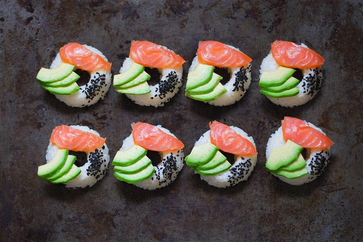 """Sushi"" donuts"
