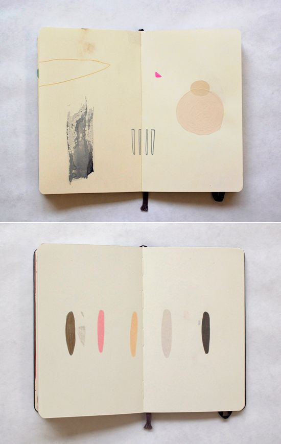 sketchbook by mia christopher via Design Love Fest