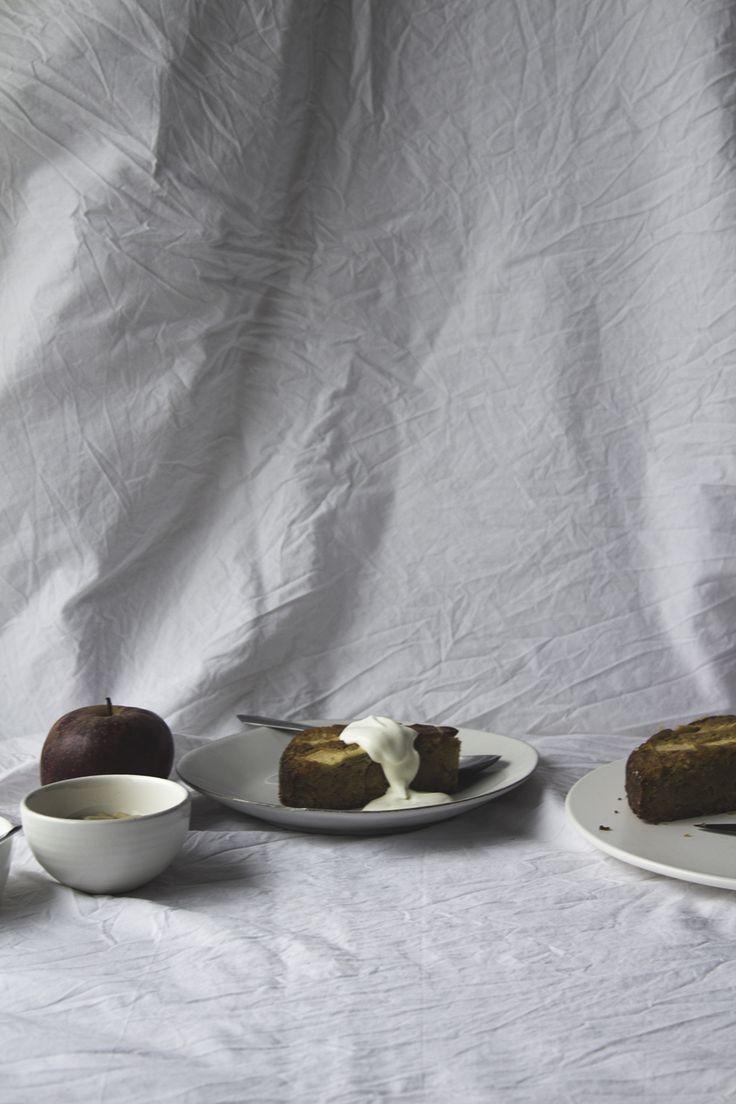 Apple & Pine Nut Cake   Migalha Doce