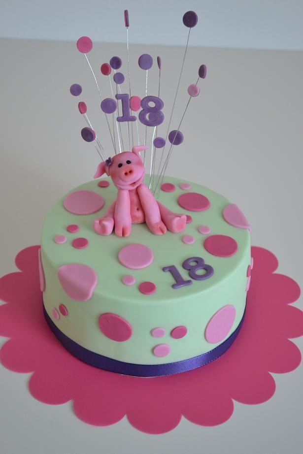 Torte zum 18. Geburtstag