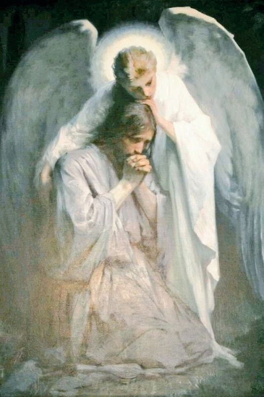 Precioso dibujo sacrum pinterest anges spiritualit et jesus - Verset biblique consolation ...