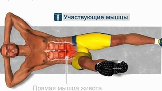 Накачать НИЖНИЙ ПРЕСС быстро - упражнения дома
