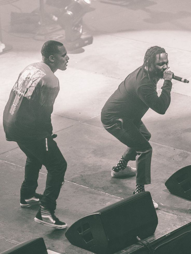 Blank Face tour (2016) ScHoolBoy Q brings out Kendrick Lamar as a suprise during his LA stop. [Courtesy of Andres Tardio]