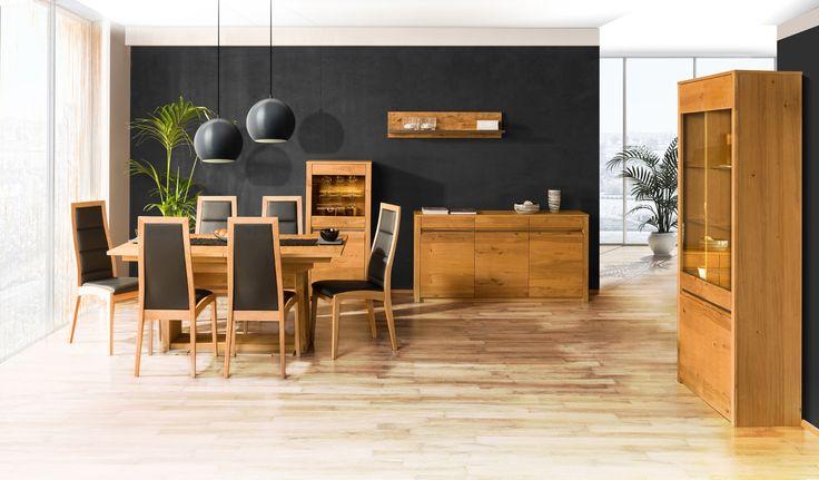 Cozy dining room decorating ideas. Cesta collection www.wirtualnysalonklose.pl