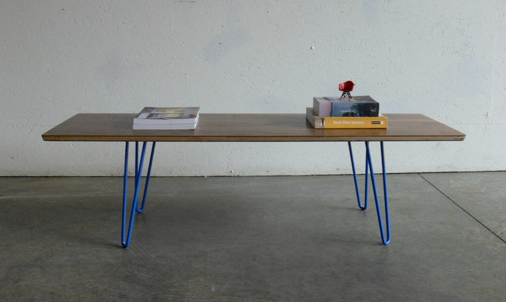 Mid Century Modern Eames Inspired Coffee Table-FREE SHIPPING. $249.00, via Etsy.Coffe Tables, Mid Century Modern, Coffee Tables, Eames Inspitational, Coffee Table'S Fre, Eames Inspiration, Modern Eames, Century Eames, Inspiration Coffee