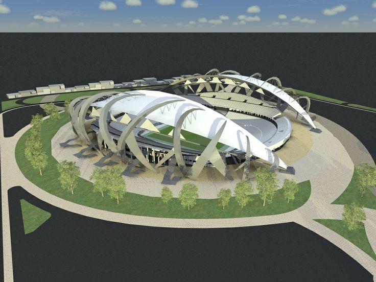 #render #day #estadio #CARD #byme #architecture