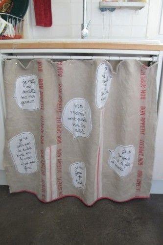rideaux sous vier nous les biquettes pinterest. Black Bedroom Furniture Sets. Home Design Ideas