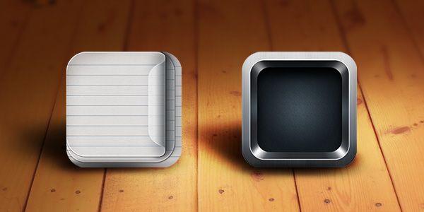 Retina-Ready iOS App Icon Templates (Free PSD)